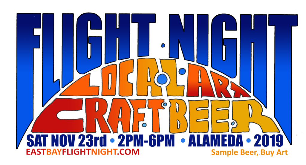 East Bay Flight Night Local Art Craft Beer